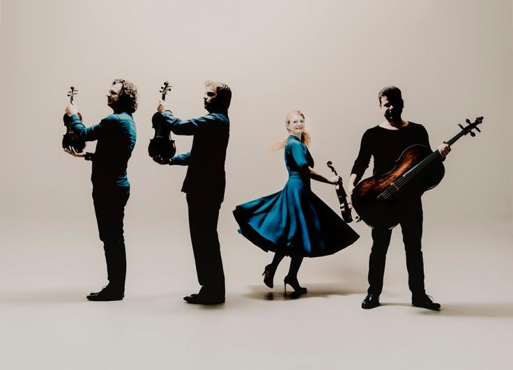 Pavel Haas Quartet Photo: Marco Borggreve
